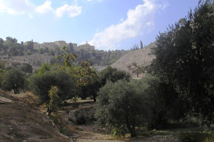 上图:今日欣嫩子谷。希腊文「地狱 Gehenna」一词源于希伯来文Gehinnom,即耶路撒冷城外的「欣嫩子谷 Valley of Hinnom」(书十八16),那里曾经是拜偶像摩洛的人焚烧儿女的地方(王下二十八3;耶七31),后来犹太人改用来焚烧犯罪者的尸首和一切不洁的垃圾,所以那里的火常年不止息,比喻地狱里永远的刑罚。拒绝创造主的人,就像垃圾一样失去了被造的用途,只配丢在这里燃烧。
