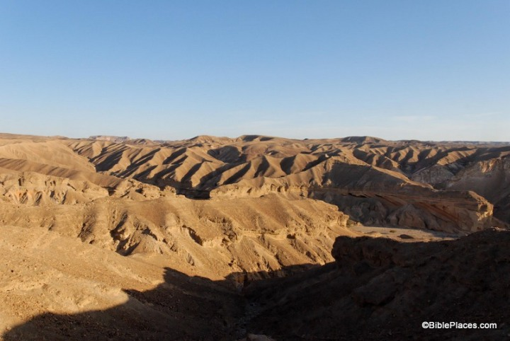 上图:巴兰的旷野是一片海拔1200-1600米之间的高原丘陵。