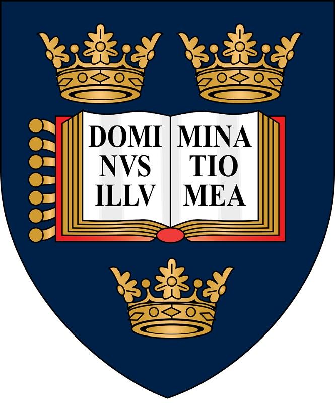 上图:牛津大学从16世纪开始的校训「Dominus Illuminatio Mea」,就是「耶和华是我的亮光」(诗二十七1)的拉丁文。