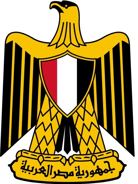上图:埃及国徽上的萨拉丁之鹰(Eagle of Saladin),图案上的鹰就是一只西奈半岛常见的金雕(Golden Eagle)。地中海北部的金雕(Golden Eagle)、 白肩雕(Imperial Eagle)和草原雕(Steppe eagle)在冬天会迁移到西奈半岛和红海一带。萨拉丁之鹰又被称为阿拉伯之鹰,常出现在现代阿拉伯世界的旗帜或徽章上,例如埃及、伊拉克、利比亚、也门、巴勒斯坦。