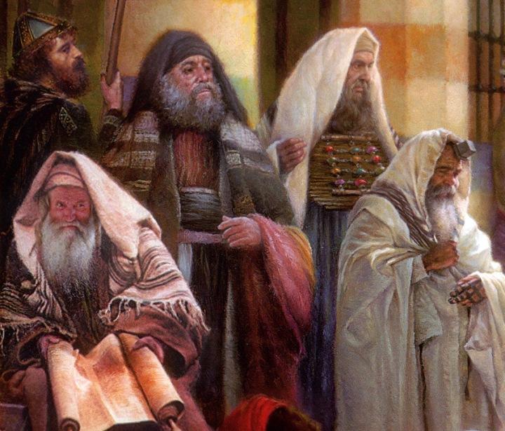 上图:第一世纪的犹太人。当时有许多犹太人侨居罗马城,主后19年,凯撒提庇留(Tiberius;主后14-37年)曾征召4000名18-45岁的犹太人服役,可见当时罗马城的犹太人数目可能接近3万人,占总人口的3%。主后49年,凯撒克劳狄(Claudius;主后41-54年)下令把犹太人驱逐出罗马城(徒十八2),但他们不久之后又返回罗马城(罗十八3)。散居各地的犹太侨民为了保持自己独特的文化和信仰,跟外邦人的关系常常变得很紧张。
