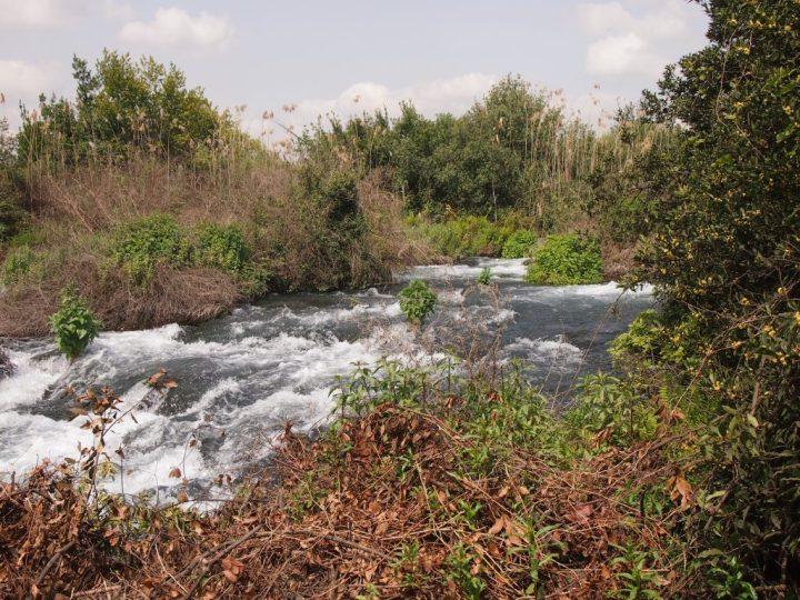 上图:拉亿位于黑门山下,常年有溪水,对但支派的吸引力很大。