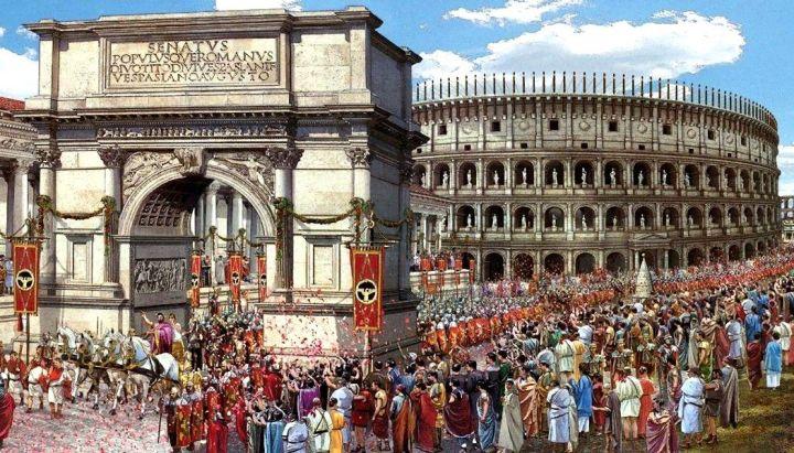 上图:古罗马的凯旋仪式。当时罗马帝国的将军在凯旋归来时,会率领得胜的士兵和战俘进城「夸胜」,游行展示给国民观看。在游行中,罗马祭司会手持点燃的香炉,边走边摇,发出「香气」,在场的人都能闻到。这「香气」对于得胜的将军、士兵和夹道欢迎的群众而言,代表胜利的喜悦;但对战俘而言,却意味着即将被奴役或处死(林后二14)。